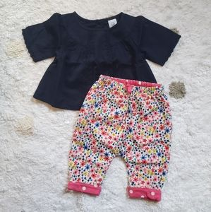 Gap Baby Girl 2 Piece Outfit
